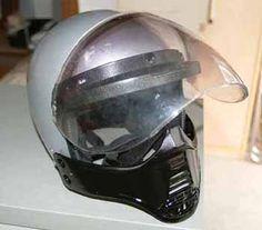 helmet of Jim Goose.