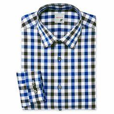 JF J. Ferrar® Slim Cotton Dress Shirt - JCPenney