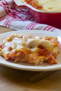 Cheesy Baked Pasta - The Makeshift Nest