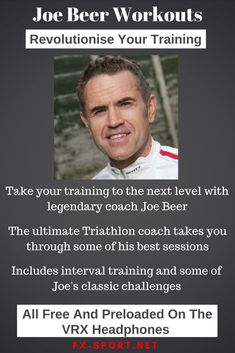 Imagine being trained by legendary #Ironman and #Triathlon coach Joe Beer. You can now experience that with our unique #SportHeadphones with hundreds of #workouts and challenges available. The ultimate #FitnessTech - #CoachJoeBeer