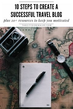If you've been thinking about starting a travel blog or looking for ways that you can start to take your blog more seriously, check out this guide with the 10 steps you need to create a successful travel blog. We've included over 20 resources and bonus materials in here, which is perfect for the ambitious travel + lifestyle blogger! Uncover how to find your voice as a blogger, how to create a blog business plan, the best cameras and courses for bloggers, and other tips to keep you motivated!