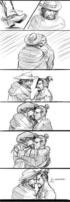 """This is Goodbye..."" << McHanzo, Overwatch, 2/3. << WHY :("