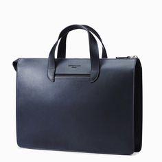 blaue Handtasche von Oppermann London
