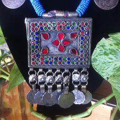 Kuchi necklace. by ApogeeAdornments on Etsy, $45.00