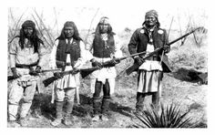 C.S. Fly's 1886 photos of Geronimo and his Apache warriors