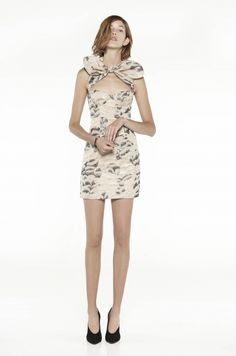 Bow Bustier dress by Carven 2011