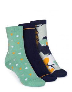 3er Pack Mid-Top Socken Wood Worker/Easy Stripe/Blossom aus Biobaumwolle #veganemode #fairfashion #biobaumwolle Wood Worker, Easy, Fairtrade, Super, Tops, Products, Fashion, Indian, Accessories