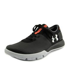 Under Armour Charged Ultimate Tr Men Round Toe Leather Black Sneakers Black Sneakers, Leather Sneakers, Men's Sneakers, Leather Fashion, Mens Fashion, Under Armour Men, Athletic, Black And White, Heels