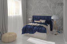 Nowoczesna sypialnia w bloku, 11 m² - Bed, Furniture, Home Decor, Decoration Home, Stream Bed, Room Decor, Home Furnishings, Beds, Arredamento
