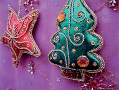 Christmas Ornanments - @FairMail - Fair Trade Cards - CS404-E