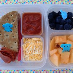 Make your own pizza lunchbox - with @EasyLunchboxes