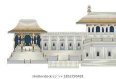 Stock Photo and Image Portfolio by Arifa Javaid | Shutterstock Textile Prints, Textiles, Mughal Paintings, Gazebo, Taj Mahal, Royalty Free Stock Photos, Outdoor Structures, Mansions, House Styles