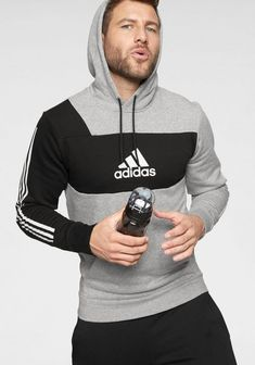 adidas Performance Kapuzensweatshirt ID PO online kaufen Adidas Outfit, Nike Outfits, Sport Outfits, Sport Fashion, Daily Fashion, Mens Fashion, Sport Style, Nike Hoodies For Men, Mens Sweat Suits