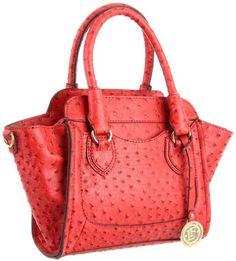 pink ostrich birkin bag - New London Fog Satchel Purse Tigerlily Orange Knightsbridge LF6009 ...