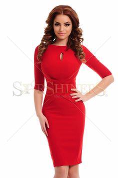 Artista Eternal Thrill Red Dress