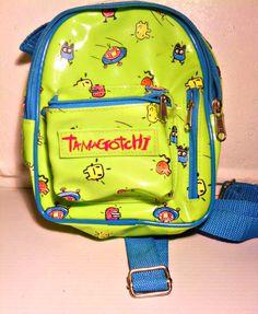Tamagotchi backpack and Tamagotchi Deviltchi by BestVintagetoys NOW DISCOUNTED!