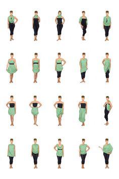 Versalette|One piece of clothing. 20 different ways.