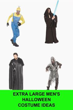 Men's Plus Size Costumes for Halloween Just because you are a bit on the large (cuddly) side doesn't mean you… Easy Couples Costumes, Costumes For Teens, Cool Costumes, Children Costumes, Family Costumes, Adult Costumes, Costume Ideas, Fairy Halloween Costumes, Halloween Costume Contest