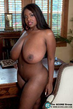 Black girl with nice bush and big tits
