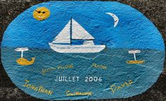 Before sailing away, everyone must draw on the  marina wall [Horta - Faial] a flag for a dream country, some sails filled up with the wind of love and doom, a geometrical or sophisticated figure, and write down the name of the yacht or sailing boat that went by, and leave messages and poetic phrases – for this will mitigate the wrath of the sea gods and grant the trip back home. (...) ___________________________________________...