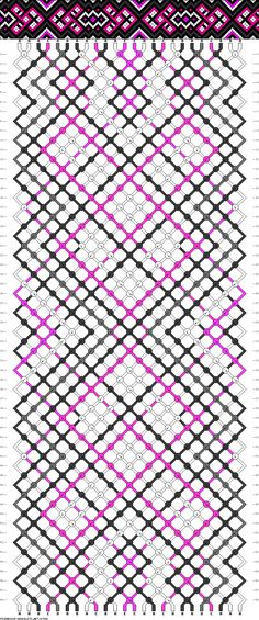 24 strings, 58 rows, 5 colors.