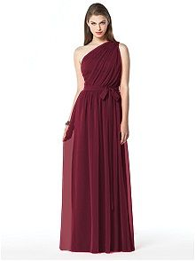 Dessy Collection Style 2831    #red #bridesmaid #dresses