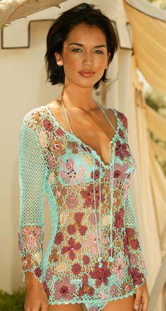 Outstanding Crochet: Designer: Laura Biagiotti