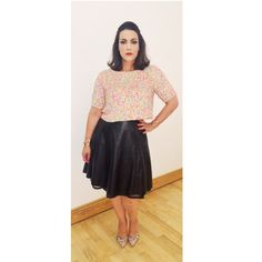 Kew the Music, July 8, 2015.  Top: Asos. Skirt: Custom made by Maki Ito. Shoes: Peter Kaiser. Cuffs: H&M