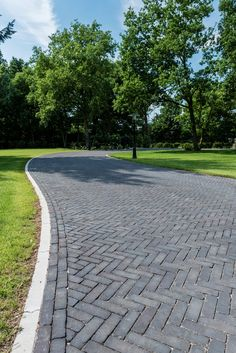Brick Driveway, Asphalt Driveway, Pavement, Walkway, Bricks, Netherlands, Terrace, Landscaping, Sidewalk