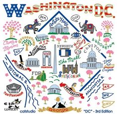 Washington DC travel map made easy Washington Dc Vacation, Washington Dc Travel, Travel Maps, Travel Usa, Washing Dc, Map Pictures, Road Trippin, Vacation Trips, Vacations
