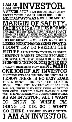 Investor Manifesto investing basics, how to invest #personalfinance