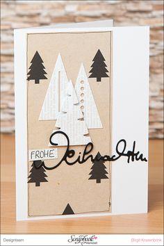 In Birgit´s Weihnachtskarten-Werkstatt {Teil 3} | SCRAP´ inFeACTed