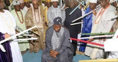 What about these pic, I learn that in Yoruba land, the king only point the stick at someone when his...
