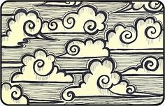 Zendoodle Thursday - Chinese Scudding Clouds | Mezzamay