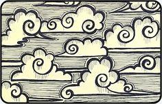 Zendoodle Thursday - Chinese Scudding Clouds | Mezzamay