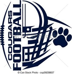 vector football team design with helmet and facemask for school rh pinterest com american football vector art football field vector art