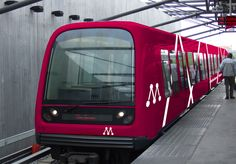 Copenhagen Metro. Notice that you can sit all the way in the front. A wonderful experience.