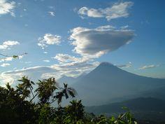 In cima al vulcano Pacaya