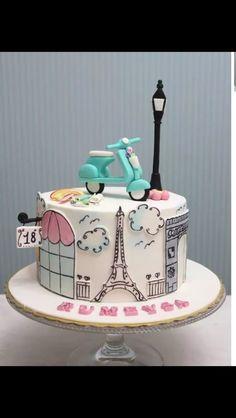 Cute Paris cake ♥