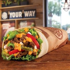 Would you try Burger King's Whopperrito?!