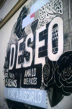 Boamistura 2013  Street art in SOHO Malaga at Malaga Centre (Andalusia, Spain)