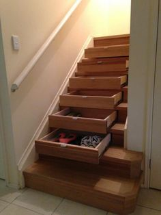 InStep Drawers by Stairpro can be installed into existing or new staircases