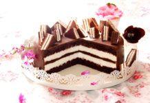 Gâteau kinder délice et Pingui avec Thermomix