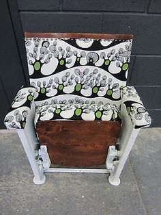 Fully Restored Early 20th Century Theatre / Cinema Seat