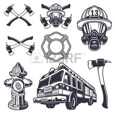 Nurses Week Quotes Discover Set of designed firefighter elements. Monochrome style Set of designed firefighter elements. Firefighter Drawing, Firefighter Images, Firefighter Shirts, Volunteer Firefighter, Firefighter Tattoos, Fireman Tattoo, Firefighters Girlfriend, Firefighter Paramedic, Brother Tattoos
