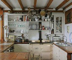 ミッドセンチュリー、レトロな生活 キッチン