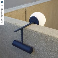 #Repost @jakestudio_paris  Phare lamp at La Cité Radieuse Le Corbusier - Marseille - ECAL alumni Stanislaw Czarnocki.- #midnightblueweek #color #midnightblue #beige #productdesign #lightningdesign #interiors #lamp #prototype #concrete #simple #lines #lessismore #laciteradieuse #architecture #lecorbusier #marseille #ecal #stanislawczarnocki #designer #design #inspiration