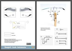 Here's a fun project to make fromitems you can find around the home. Turn the handle on this Seagull and the wings flap powered by the paperclip crankshaft. You can download and print out a …