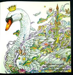 Book Review: Imagimorphia with Coloured pages. – La Artistino – Peta Hewitt