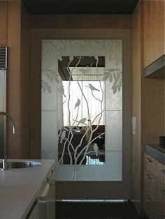 83 Best Etched Glass Doors Images In 2016 Window